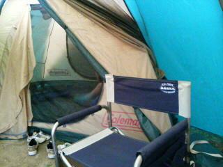 なんちゃってキャンプ